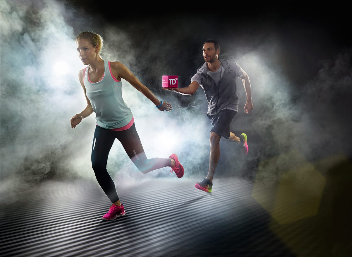 telekom campaign running sport photography berlin