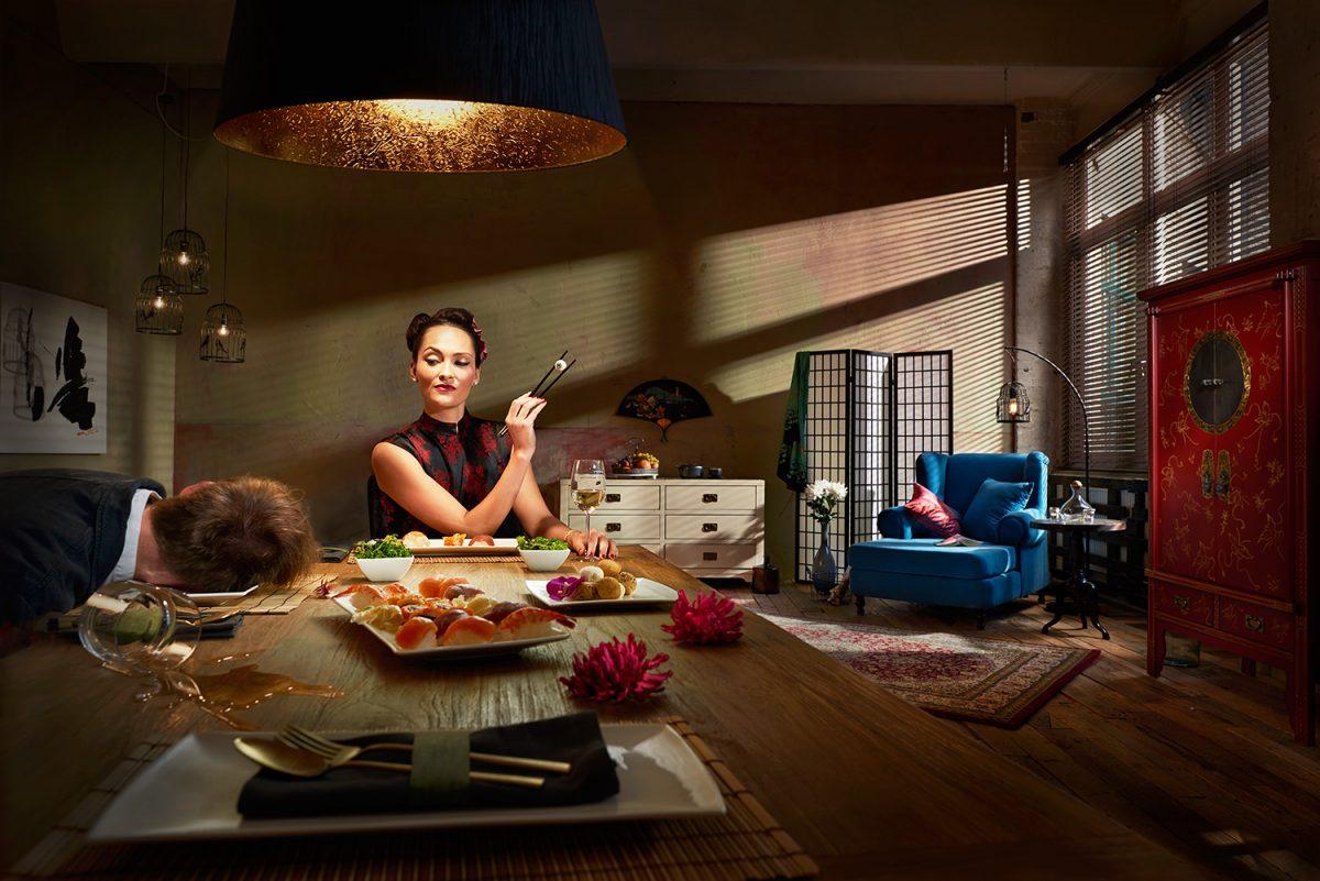 ruumz interior design online campaign murder Photography berlin