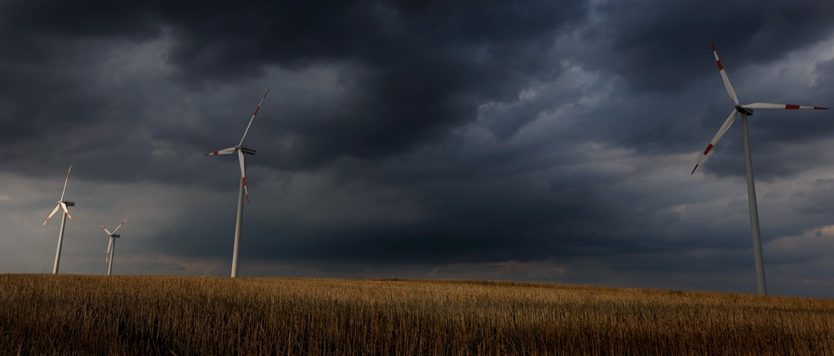 wind energy photography landscape storm