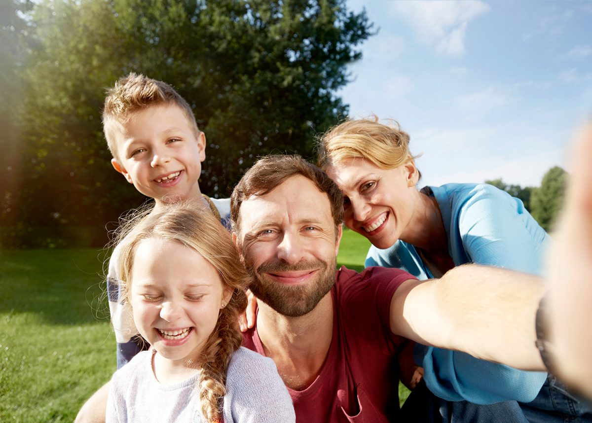 VGH selfies family picture advertising photography berlin